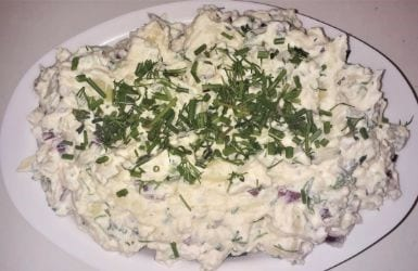Best Potatoes Salad-With Homemade Mayonnaise