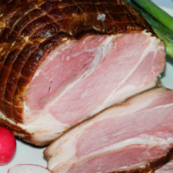 Best Easter Ham Recipe-Sliced Ham