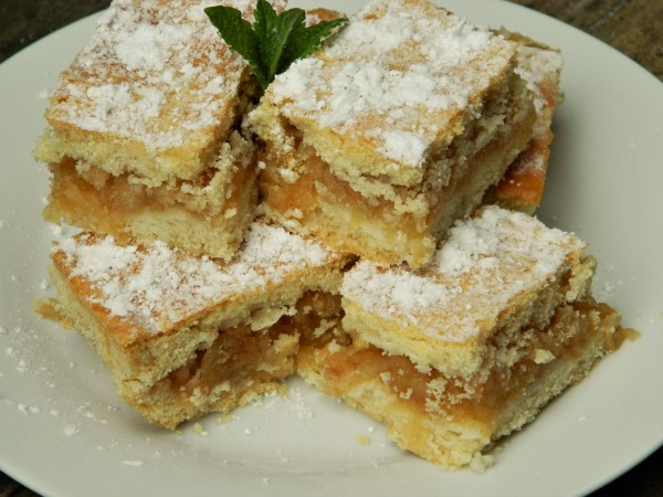Best Easy Apple Cake Recipe-Served on the Plate