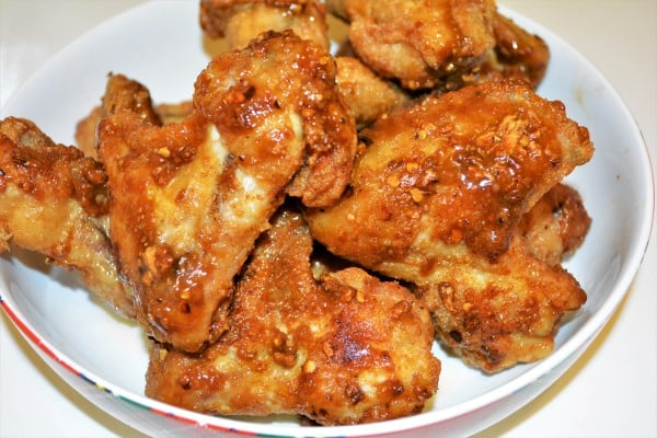 Honey and Garlic Chicken Wings Recipe-Ready to Serve