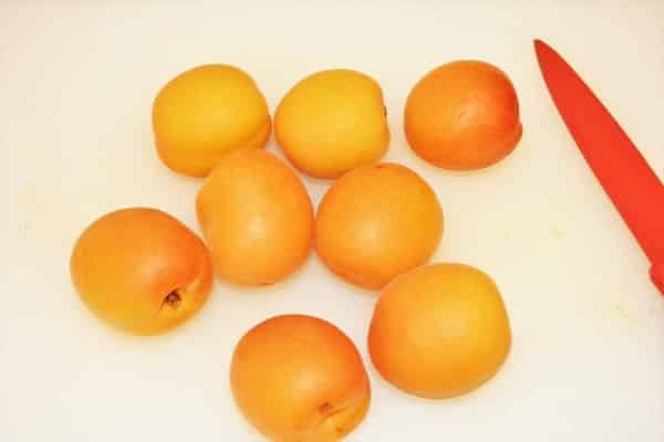 Grilled Apricot Salad Recipe-Whole Apricots