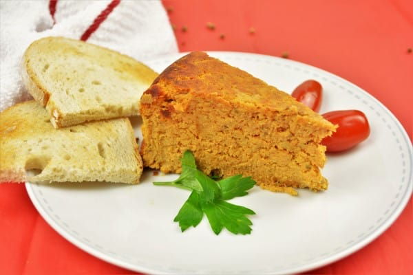The Best Turkey Meatloaf Recipe-Served on Plate With Toast