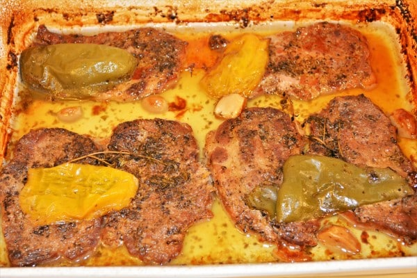Easy Oven Baked Pork Steak Recipe-Ready to Serve