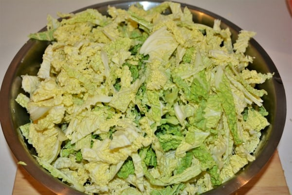 Best Sauteed Savoy Cabbage Recipe-Sliced Savoy Cabbage
