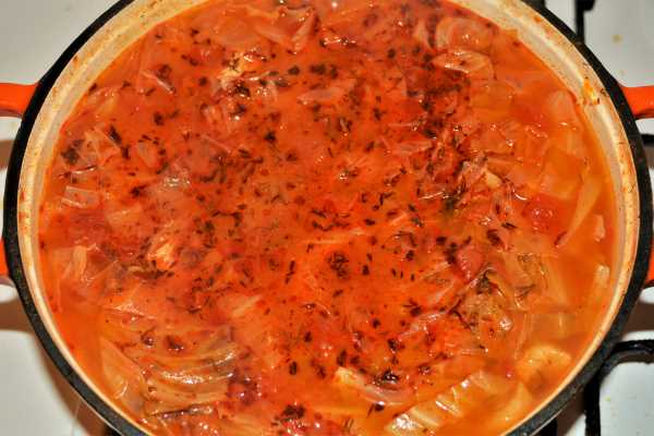 Cabbage Soup With Pork Meat-Ready to Serve