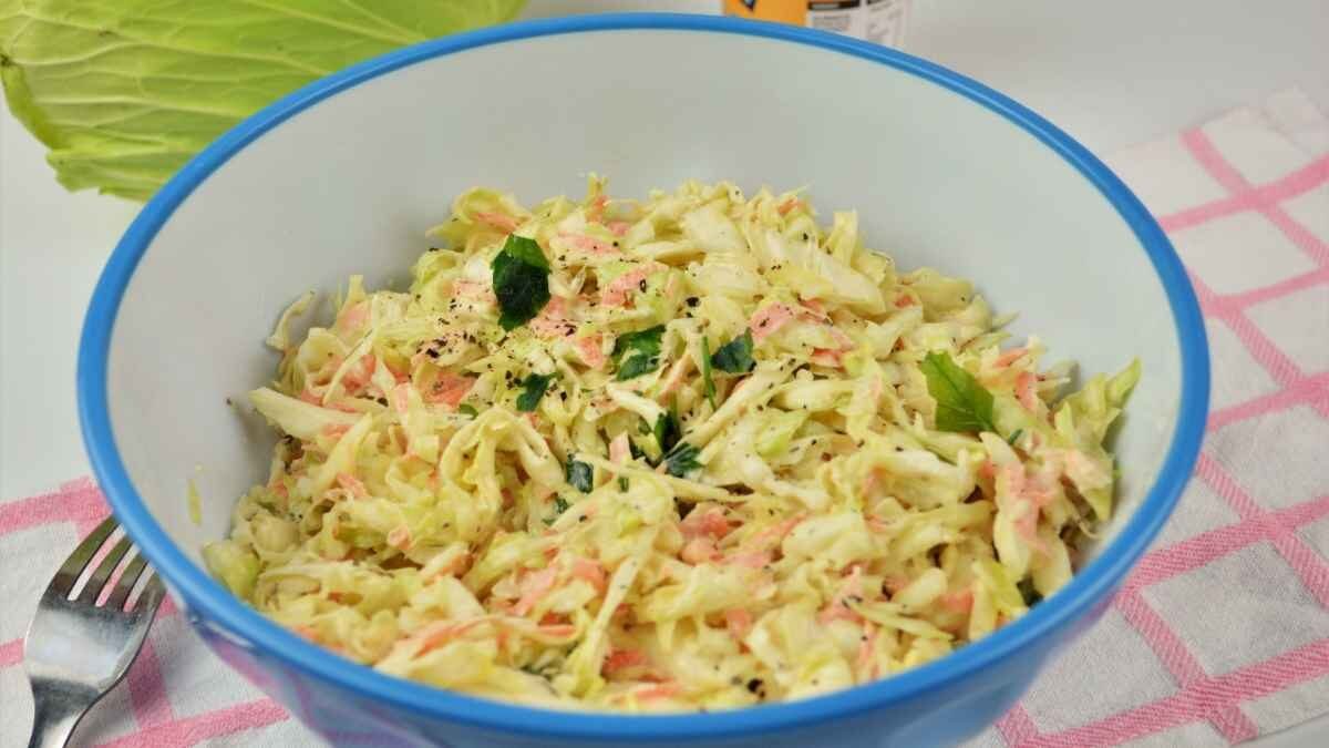 Quick and Easy Homemade Coleslaw Recipe
